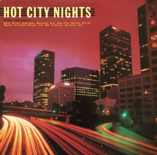 V/A ‎- Hot City Nights (LP) (G+/VG-)
